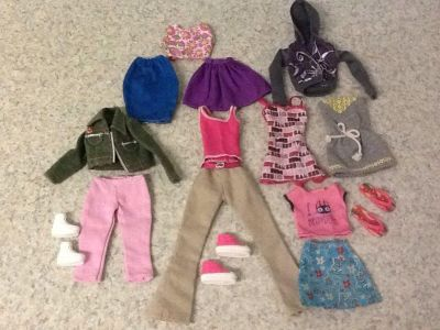 Clothes for Barbies 15 pcs in all