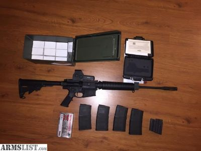 For Sale: Smith and Wesson AR10 , EOtech, ammo bundle