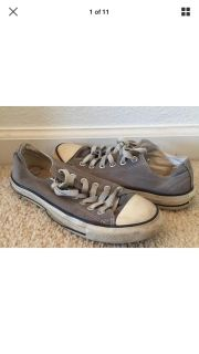 Converse All Star Gray Size 7