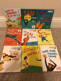 9 cat in the hat learning library books