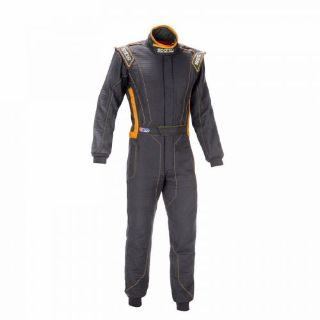 Sell SPARCO VICTORY RS-4 SUIT - Black/Orange, Size 52 - FIA Rated motorcycle in Littleton, Colorado, United States, for US $875.00