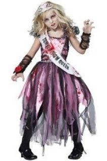 Zombie Prom Queen Child's Costume - Size Small