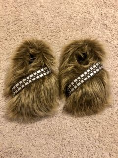Chewbacca slippers - excellent condition