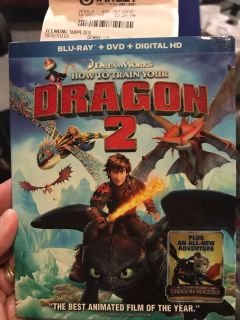 How to train your dragon 2 new in package