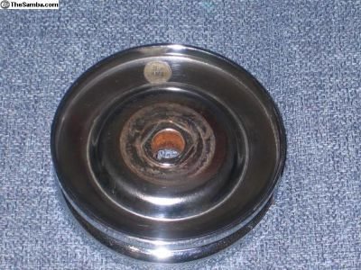 generator pulley chromed