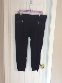 Black Maurice s stretchy dress pants XL regular length