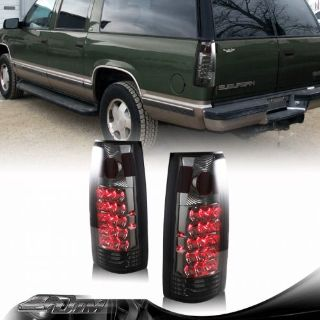 Find 1995-1999 GMC Tahoe Suburban LED Smoke Housing + Smoke Lens Altezza Tail Lights motorcycle in Rowland Heights, California, United States