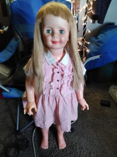 """Pick up now!$100 vintage early 60s 35"""" patty paypal doll"""
