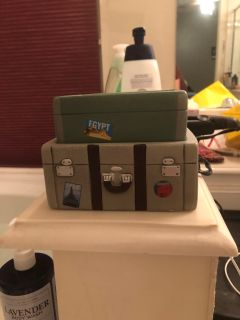 Suitcase travel scentsy warmer
