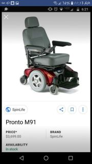Wheel chair and lift