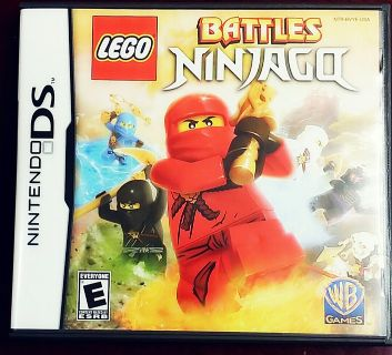 Lego Battles Ninjago DS game
