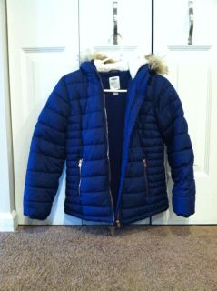 Girls old navy frost free jacket - new condition