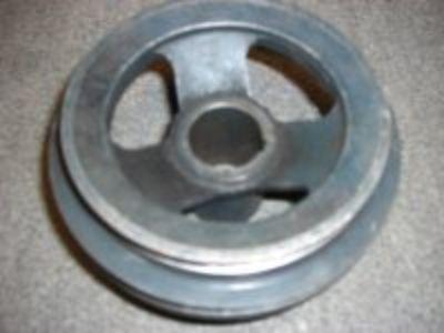 Ford flathead Duel sheave crank pulley narrow belt 8ba