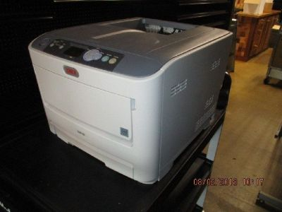 OKIdata C610N Color LED Printer RTR#8073812-07