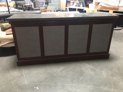 Large Granite Entry Table
