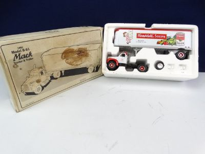 1961 Mack Model B-61 TruckTrailer Toy