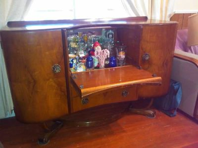 $400, Antique Buffet  Bar