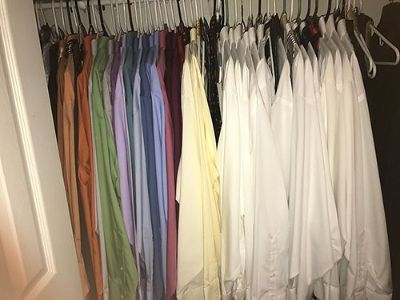 DRESS SUITS JACKETS SIZE 50, PANTS 48-44/30, ...