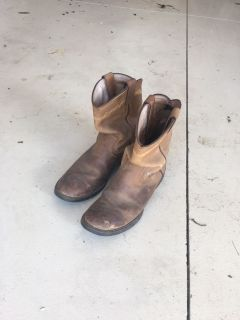 Leather western boots Sz7
