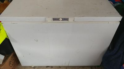 Large Amana deep freezer...works great just dont need