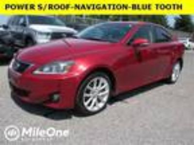 used 2012 Lexus IS for sale.