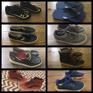 Boys name brand shoes