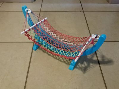 American Girl 18 Doll Hammock Cute!