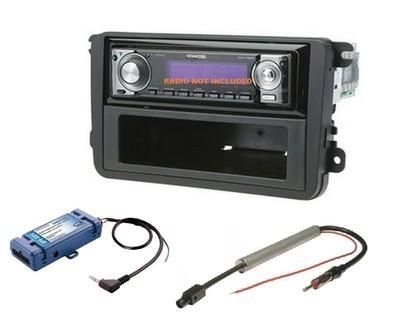 Buy VW CAR STEREO RADIO KIT DASH INSTALLATION MOUNTING TRIM BEZEL WIRING HARNESS SWC motorcycle in Oliver Springs, Tennessee, US, for US $125.00