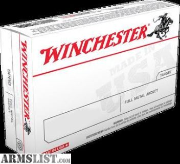 For Sale: Winchester Ammo Q4318 Best Value 9mm Luger 124 GR Full Metal Jacket 50 rounds-flat rate shipping
