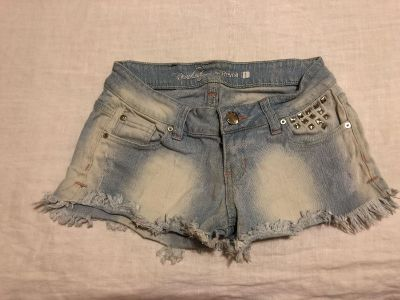 Revolution by Revolt. Size 1. Cotton/Spandex. Photo of Back Attached Distressed