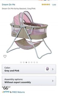 Baby on the go bassinet