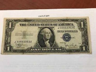 USA United States $1.00 banknote 1935 #2