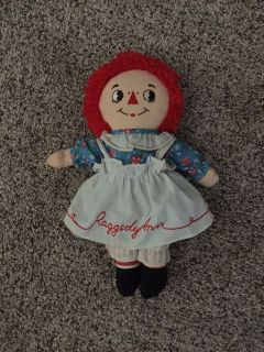 Raggedy Ann Doll New With Tags