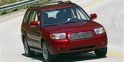 2006 Subaru Forester X (Black)