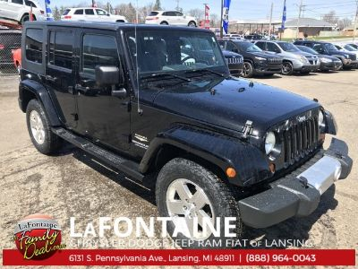 2008 Jeep Wrangler Unlimited Sahara (Black Clearcoat)