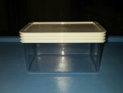GUC 2-.45qt Click Clack Storage Containers