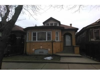 3 Bed 1 Bath Preforeclosure Property in Chicago, IL 60620 - S Wood St