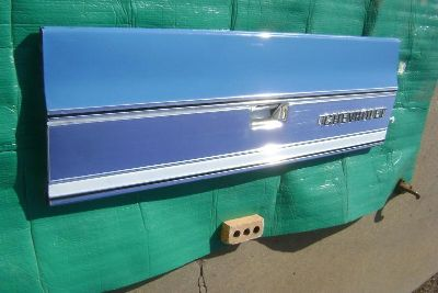 Purchase 1974 74 Chevy Pickup Truck TAILGATE W/ TRIM PANEL Like NOS 1973 73 1975 75 1976 motorcycle in Great Bend, Kansas, US, for US $1,250.00