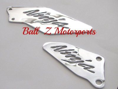 Purchase Kawasaki Chrome ZX-10 ZX10 ZX10R Heel Guards! 06,07,08,09,10,2006,2008,2009,2010 motorcycle in Plattsburg, Missouri, US, for US $59.99