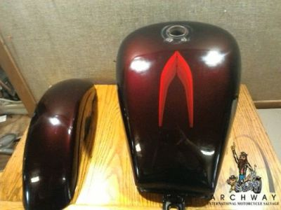 Find Used Kawasaki Vulcan 700/750 Gas Tank and Front Fender motorcycle in Pacific, Missouri, United States, for US $250.00