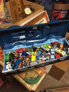 HOT WHEELS MATCHBOX OTHER and case
