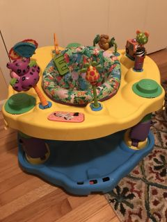 Exersaucer, I bought this used at a consignment store. Used for visiting grandchild.