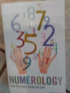 Numerology book. Free with $3 purchase