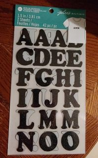 Iron-on transfer letters