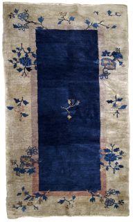 Handmade antique Peking Chinese rug, 1B613