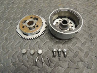 Find 95 94-00 YAMAHA TIMBERWOLF 250 2X4 FLYWHEEL STARTER GEAR CLUTCH ONE WAY MAG A motorcycle in Lehigh Acres, Florida, US, for US $49.00