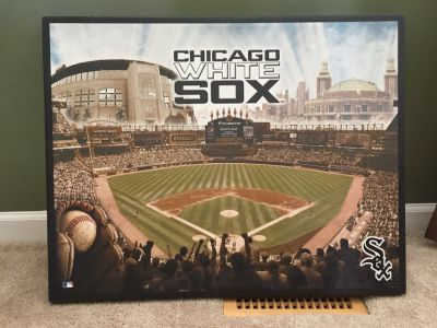 CHICAGO WHITE SOX CANVAS PICTURE