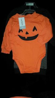 ADORABLE NWT Carters 3piece baby boys 6month HALLOWEEN set