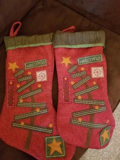 Two Christians stockings