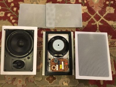 In Wall Speakers - All 3